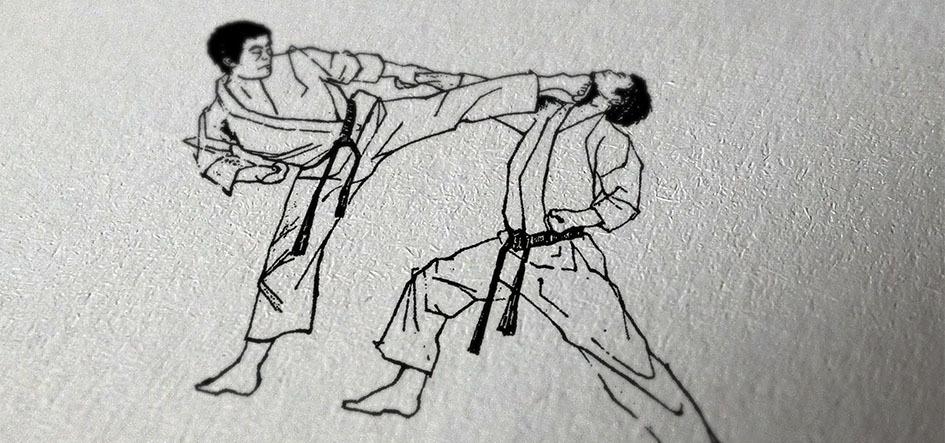 Популярное боевое искусство каратэ шотокан