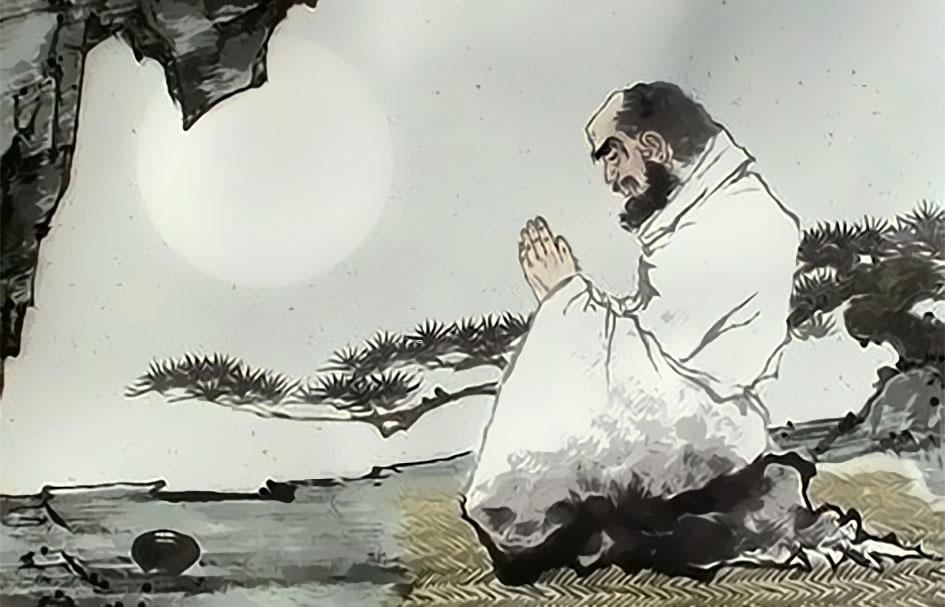 Дамо медитирует